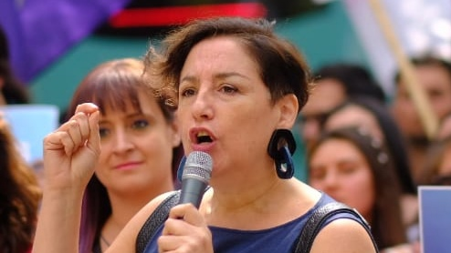 Photo of Beatriz Sánchez: Apruebo Convención Constituyente.